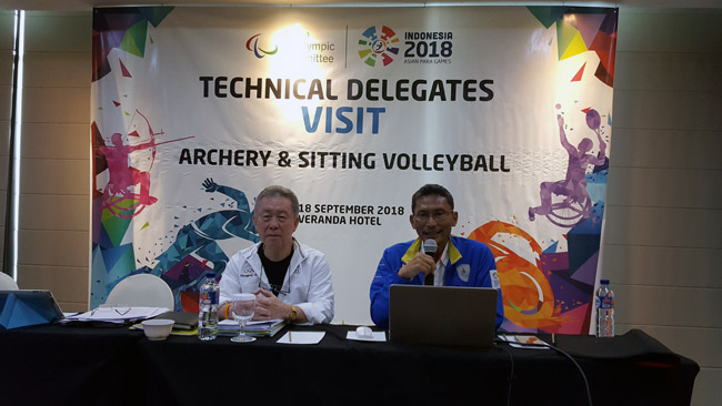 T/D Meeting with LOC of the 2018 Asian PARA Games