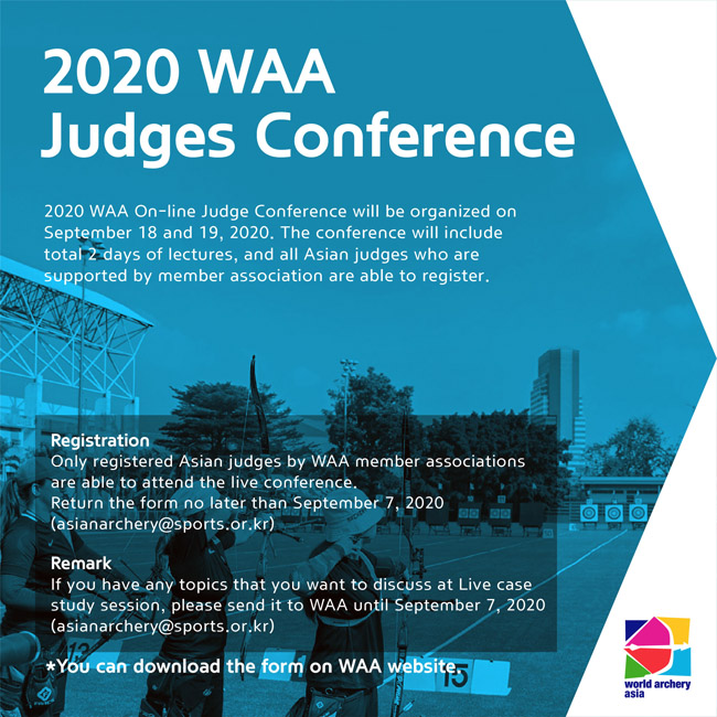 2020 WAA Judge conference-online