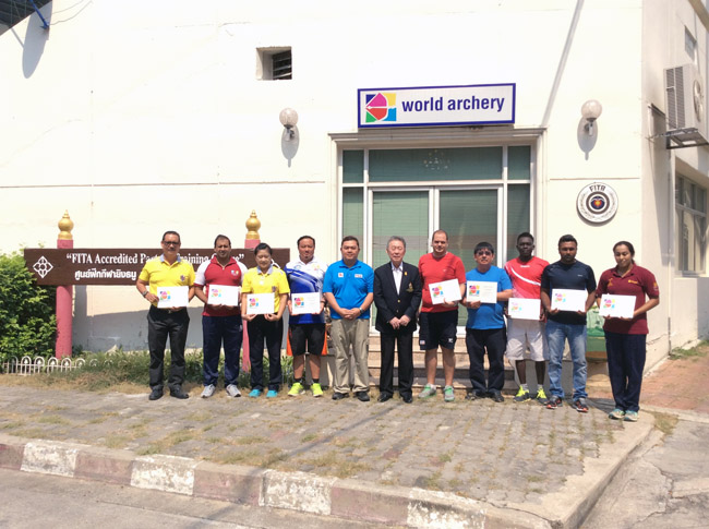 World Archery Compound Training Camp