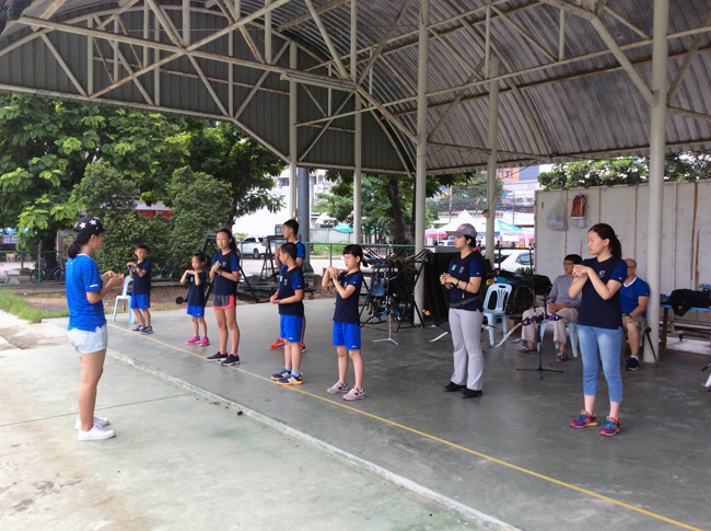 Enhancement Archery Course นักกีฬาเยาวชนจีน